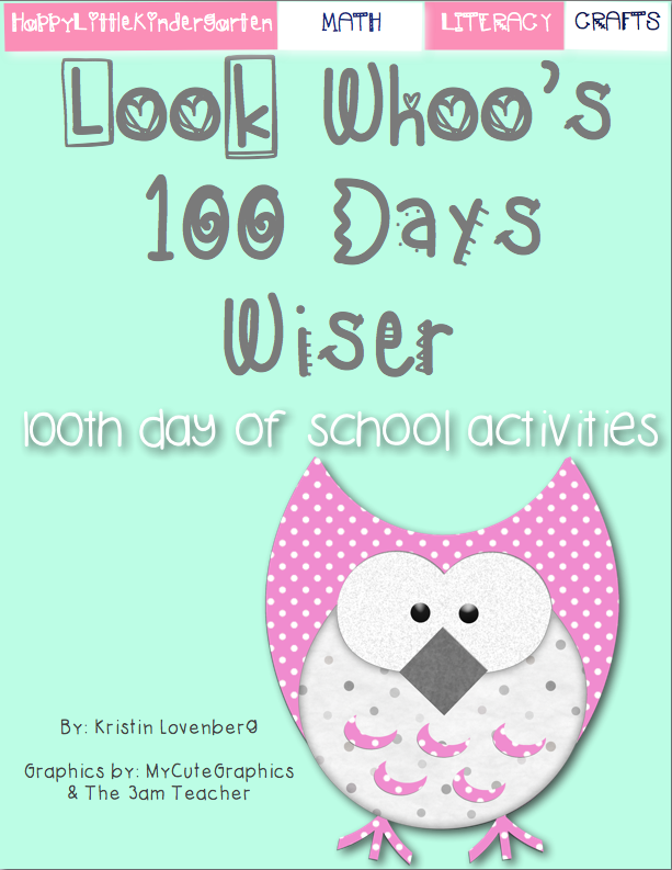100th Day of School 2015 100th Day of School Math