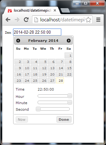 Date time picker android tutorial