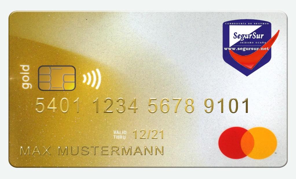 Tarjeta SegurSur Mastercard Oro