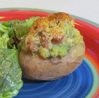 Getting Stuffed: Double Baked Overstuffed Yukon Potatoes