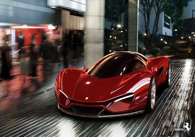 Ferrari Xezri Concept Car by Samir Sadikhov