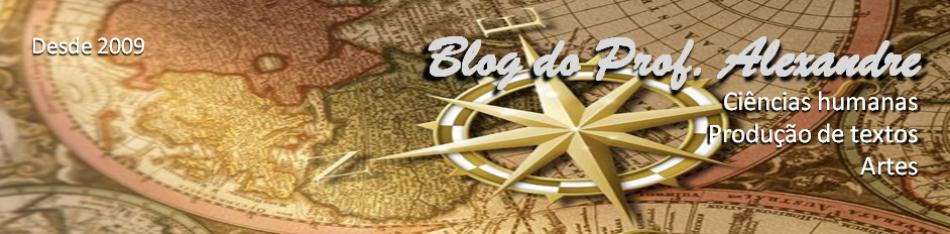 Blog do Prof. Alexandre