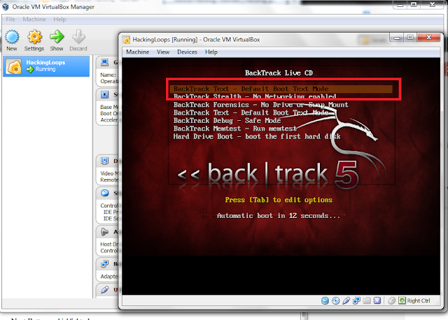 Select Backtrack Text