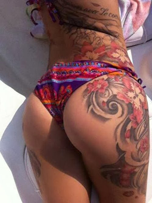 Side Belly And Thigh Tattoo Tattoo Loves