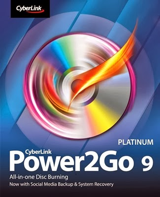 Download Cyberlink Power2Go 9 Platinum + Crack
