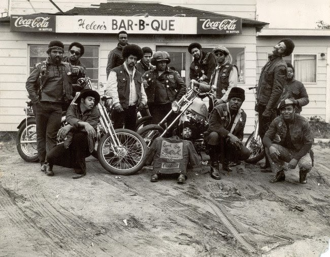 los primeros motociclistas negros
