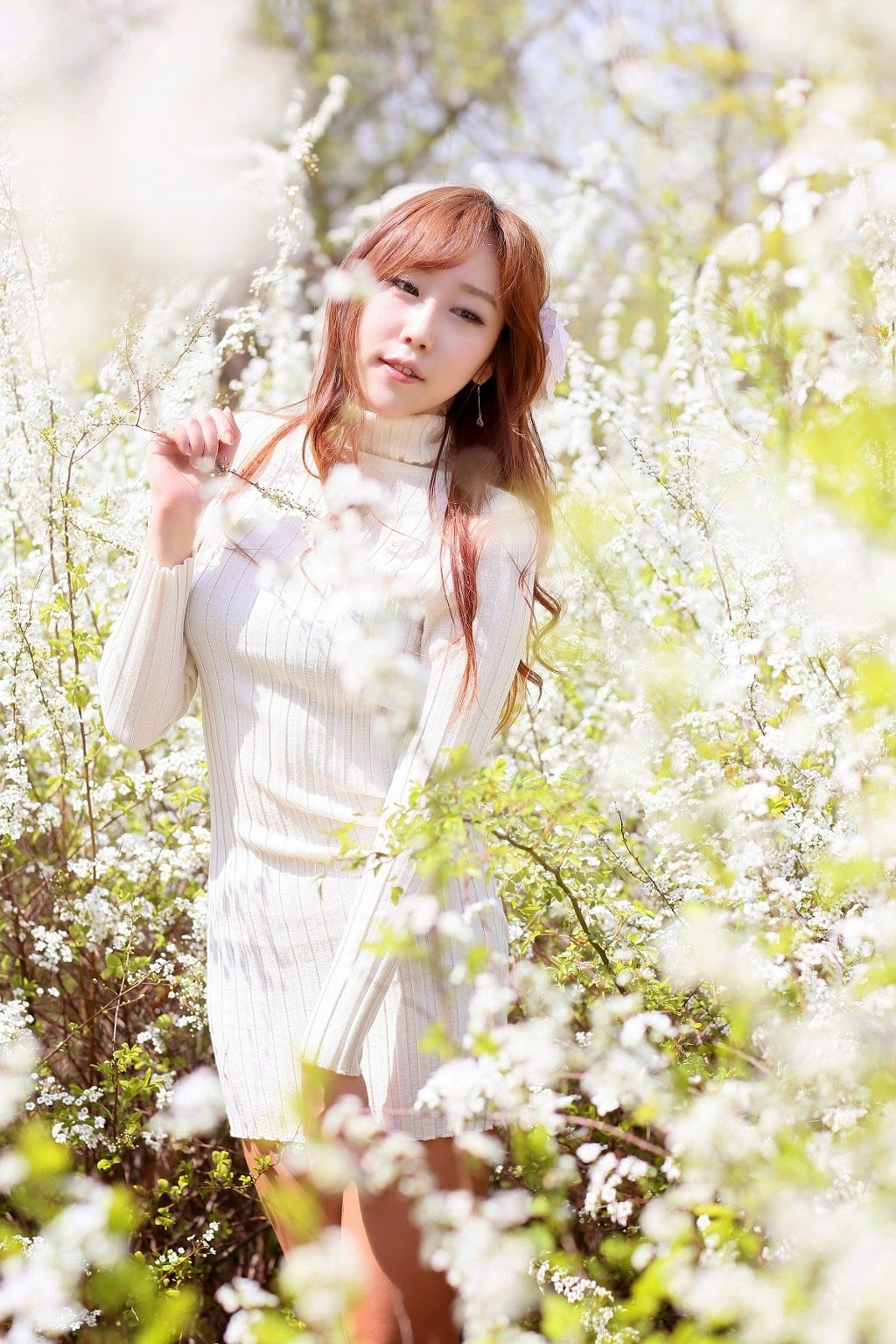 5 Kim Da On - Down By The River - very cute asian girl-girlcute4u.blogspot.com