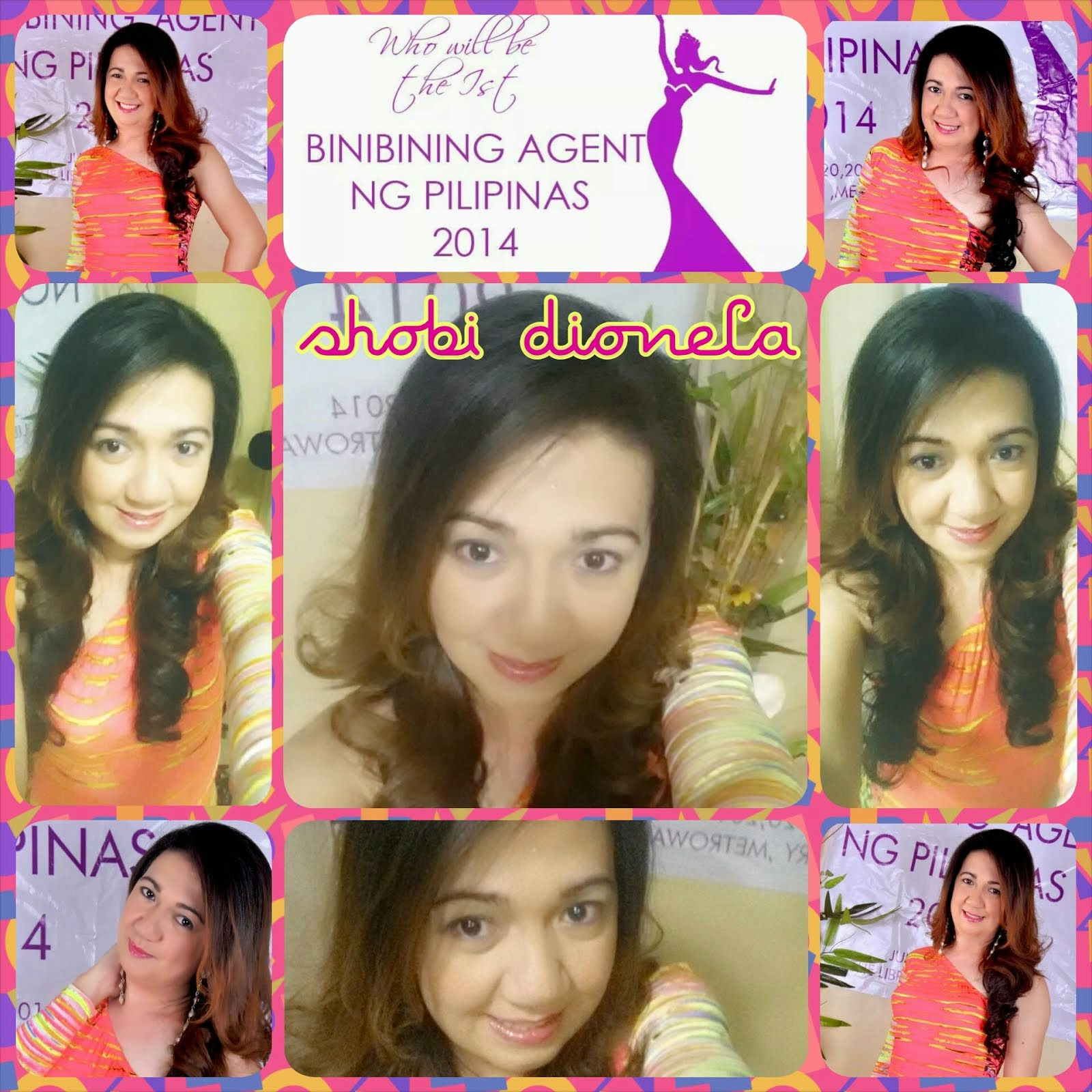 Shobi Dionela for 1st Binibining Agent ng Pilipinas 2014