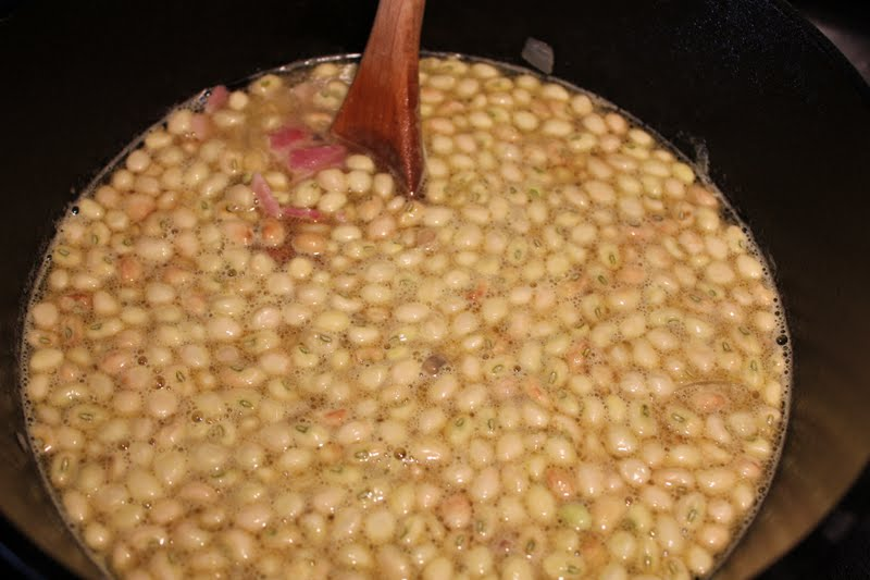 how to cook fresh crowder peas