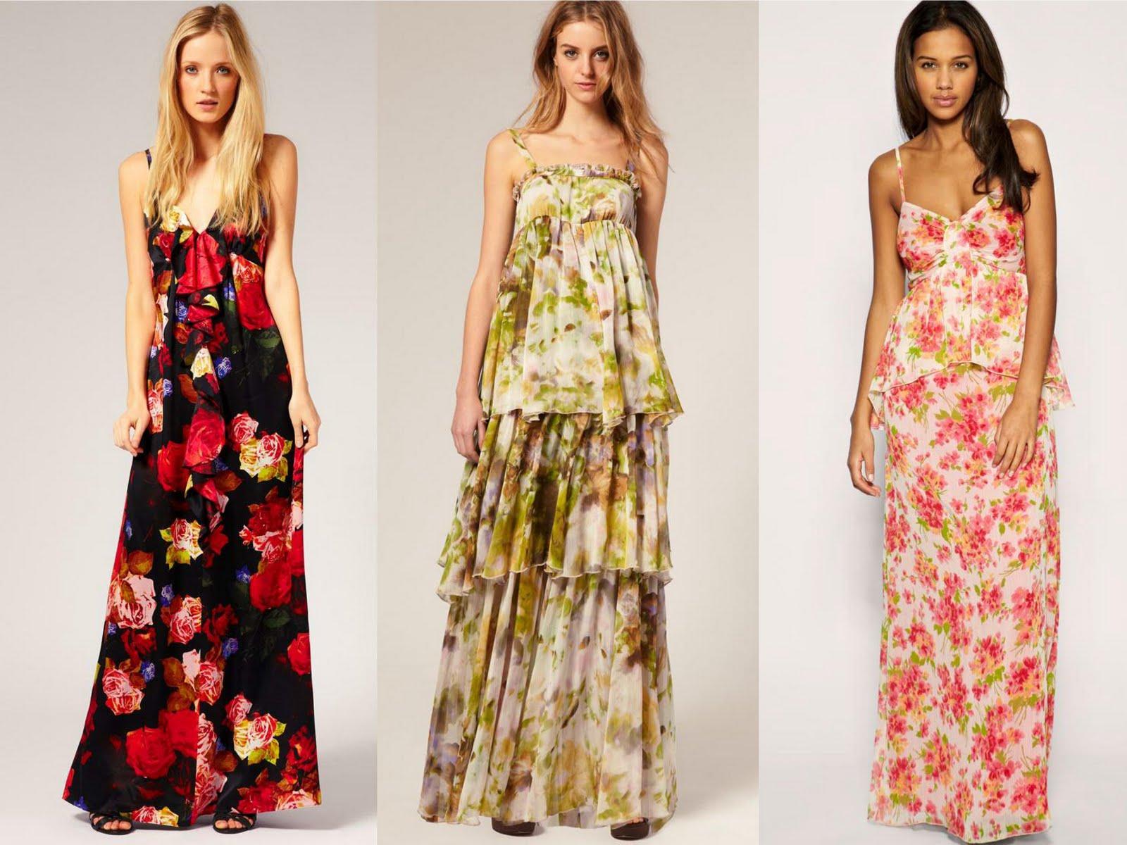 Vestidos Longos Para o Verão