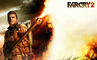 Far Cry 2 Flamethrower HD Wallpaper