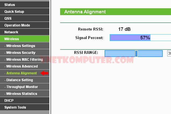 Point to point menggunakan TL-WA7510N dengan Grid antenna TL-ANT5830B