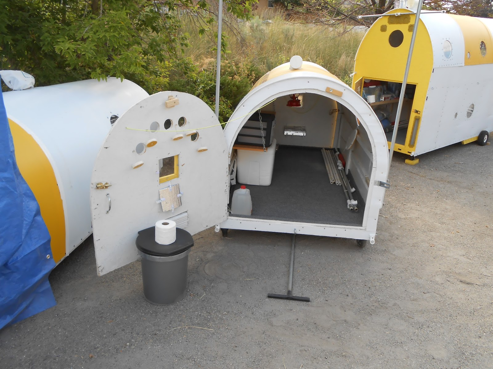 Temporary Shelters Survival : Pix grove survival pods for homeless