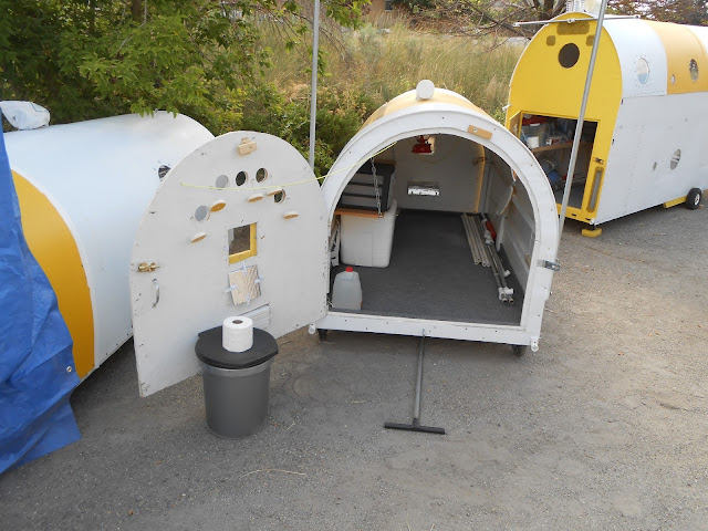 Survival Pods for Homeless by Gary Pickering