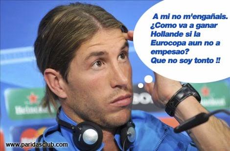 Final Champions: Real Madrid - Atlético. Humor, cachondeo, bromas, chorradas, whatsapp, chistes, guasa y memes. Fútbol final Champions League, Ramos y Bale.