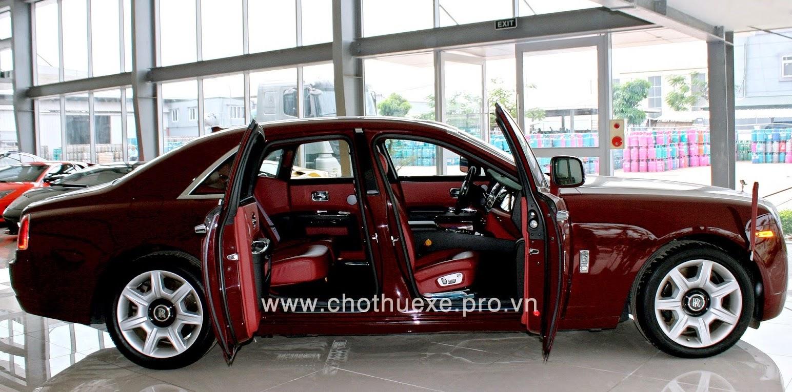 Cho thuê xe cưới Rolls Royce Ghost 1