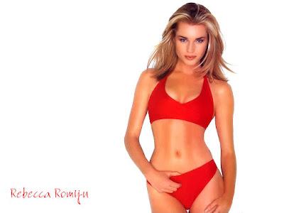 Rebecca Romijn Bikini Wallpaper