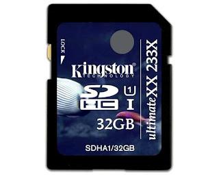 Kingston SDHC UHS-I UltimateXX