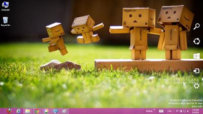 Danbo Theme For Windows 8