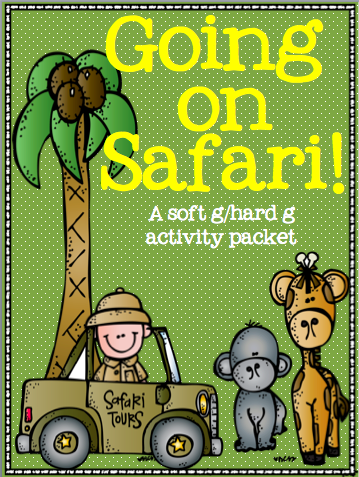 http://www.teacherspayteachers.com/Product/Going-on-Safari-a-soft-ghard-g-sound-activity-pack-1368767