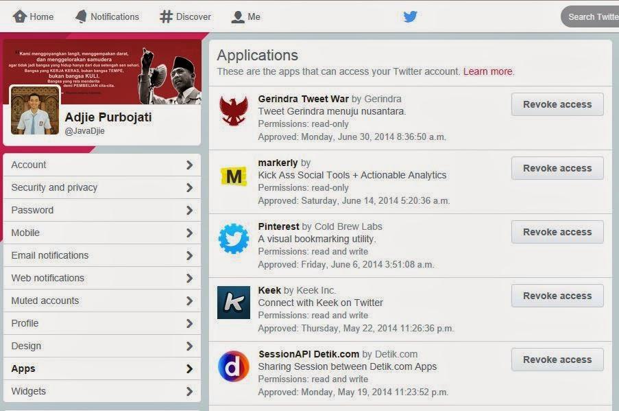 Mengatasi Auto Tweet dan Auto Retweet Twitter