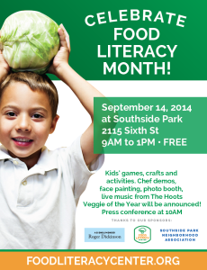 Food Literacy Fair is Sunday