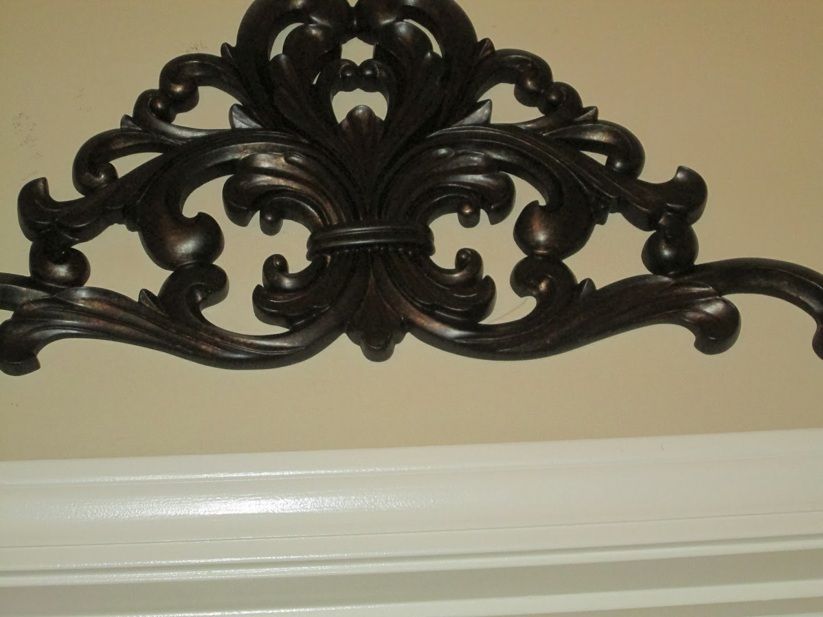 Long Iron Wall Decor : Door toppers amazing decorative