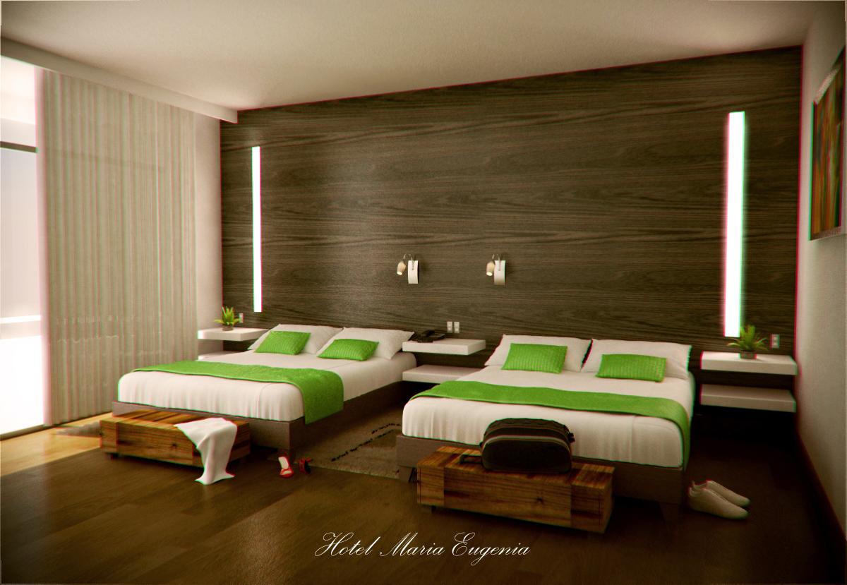 Remodelaci n habitaci n de hotel for Diseno de habitacion de hotel
