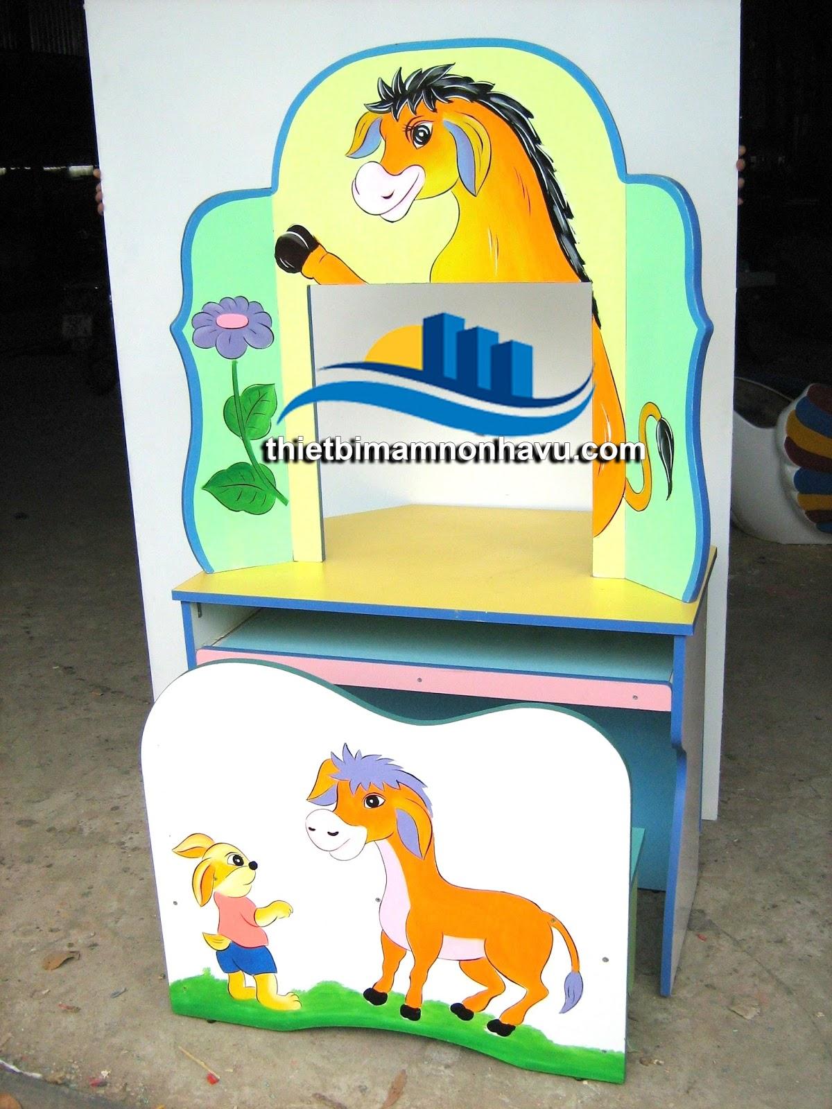Bộ bàn ghế kidsmart mầm non