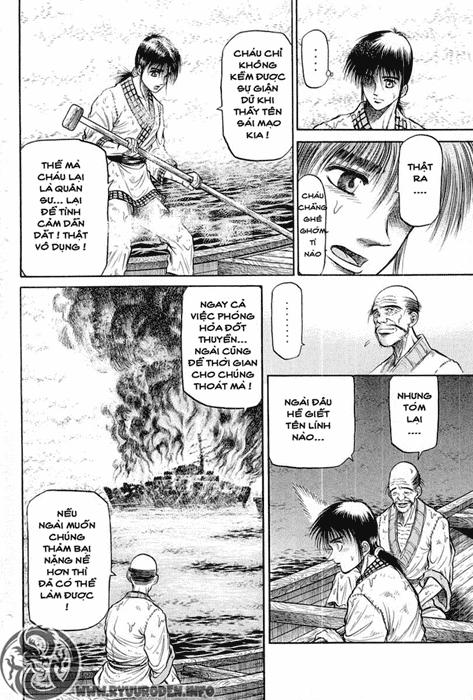 Chú bé rồng-Ryuuroden chap 37 Trang 43 - Mangak.info