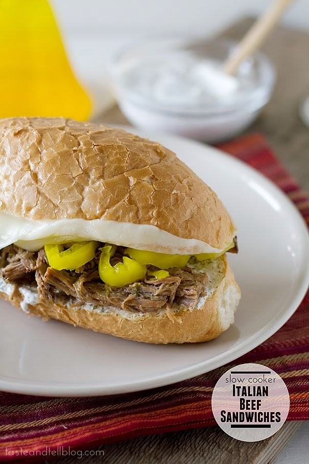 Slow Cooker from Scratch®: Slow Cooker Italian Beef Sandwiches with ...