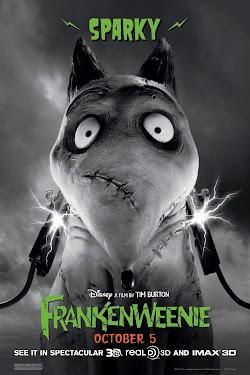 Chó Ma Frankenweenie - Frankenweenie (2012) Poster