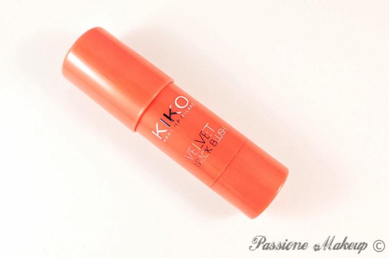 Kiko Velvet Stick Blush Intuitive Rose Coral