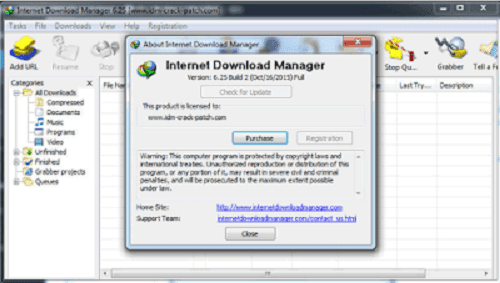 Download Internet Download Manager 6.25 Build 9