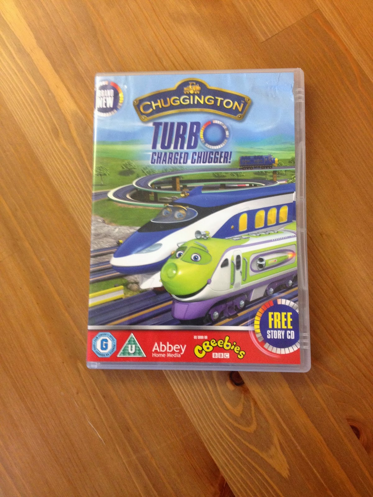 Review – Chuggington Turbo Charged Chugger! DVD Abbey Kids Home Media