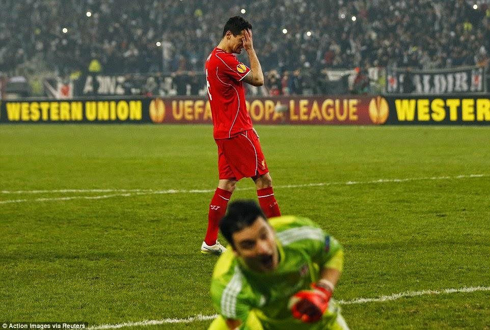 Hasil Lengkap Liga Europa Babak 32 Besar