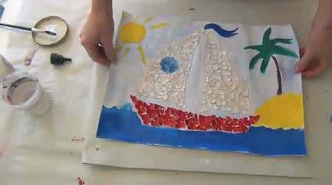 mosaic craft for kids