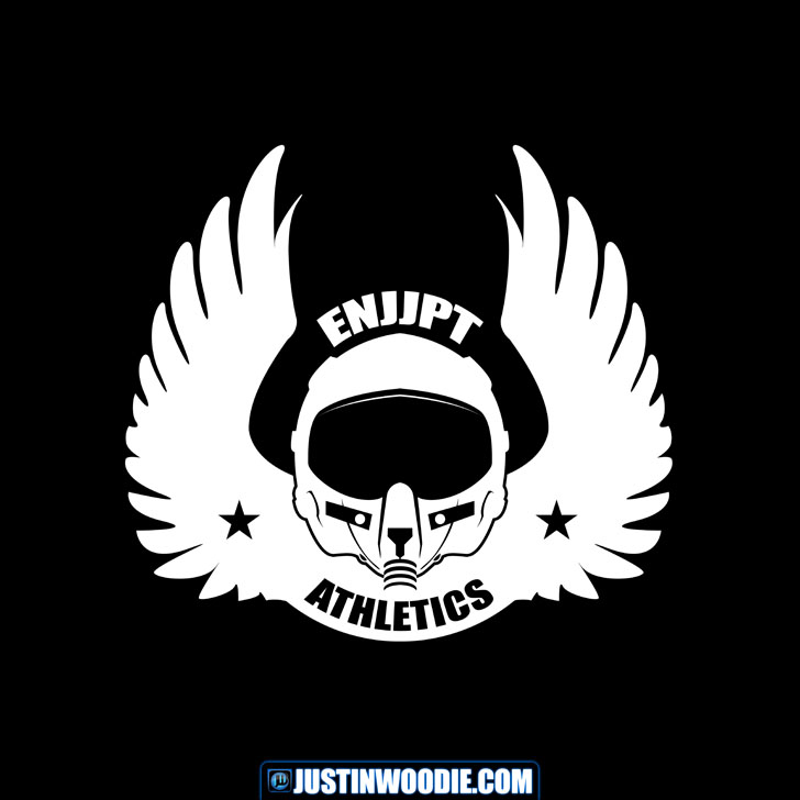 ENJJPT Athletics Graphic Logo Design