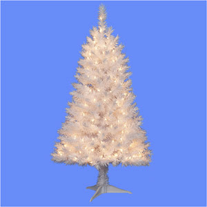 Be getting a fake white christmas tree and i couldn't be happier