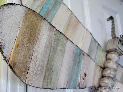 wood shim art