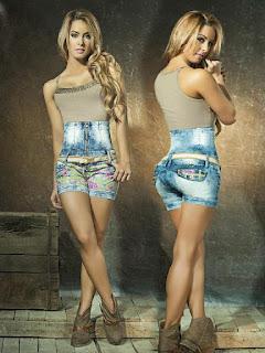 short alto jeans