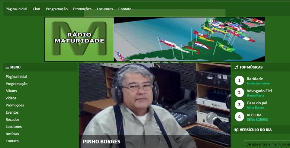 RÁDIO MATURIDADE - NO AR - ACESSE AQUI
