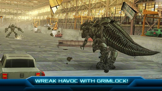 screenshot 5 TRANSFORMERS: AGE OF EXTINCTION - The Official Game v1.1.1
