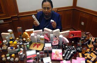 Daftar Kosmetik Berbahaya Terbaru 2013