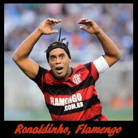 Ronaldinho Gaúcho do Flamengo é o artilheiro do Brasileirão
