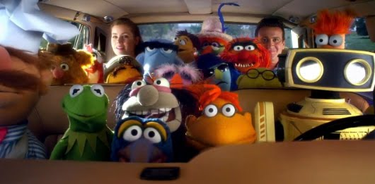 'Los Muppets', de James Bobin
