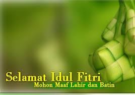 Kata Ucapan Selamat Lebaran Hari Raya Idul Fitri
