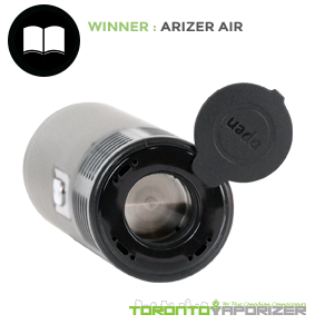 Ease of Use Winner - Arizer Air