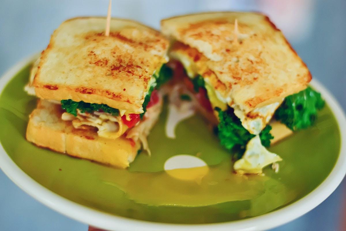Easy Peasy Egg Sandwich - Amandakeener.com - A Creative Blog