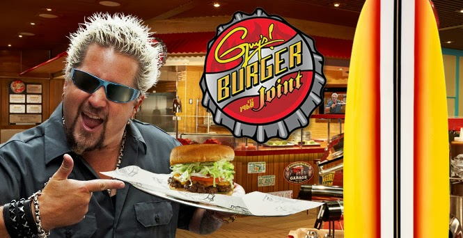 Food Network Gossip Guy Fieri Family Cruise Special Airs